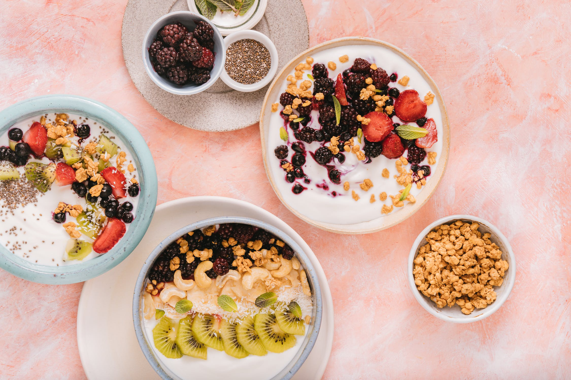 Skyr with toppings