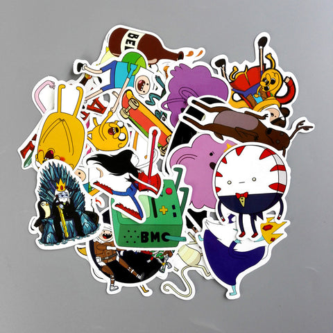 25 Pieces / Bag Stickers Adventure Time