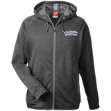 KC Embroidery TT38 Team 365 Men's Heathered Performance Hooded Jacket
