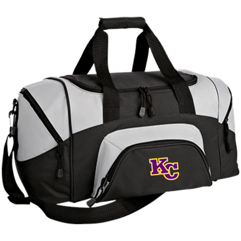KC Big Block BG990S Port & Co. Small Colorblock Sport Duffel Bag