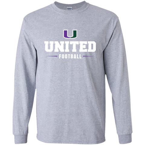 United G240B Gildan Youth Long Sleeve T-Shirt