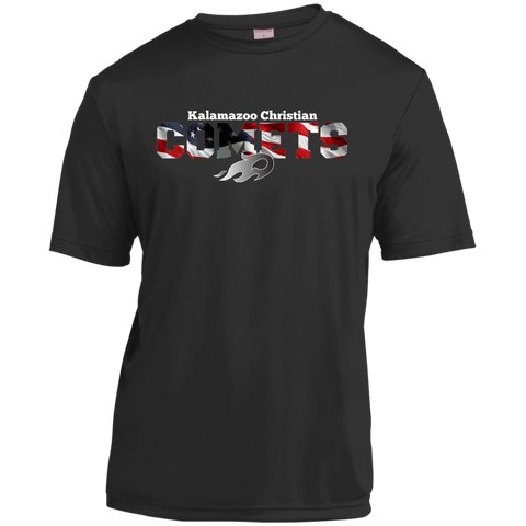 Flag YST350 Sport-Tek Youth Moisture-Wicking T-Shirt