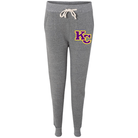 KC Big Block Embroidery 31082F Alternative Ladies' Fleece Jogger