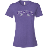 Purple Camo 880 Anvil Ladies Lightweight T-Shirt