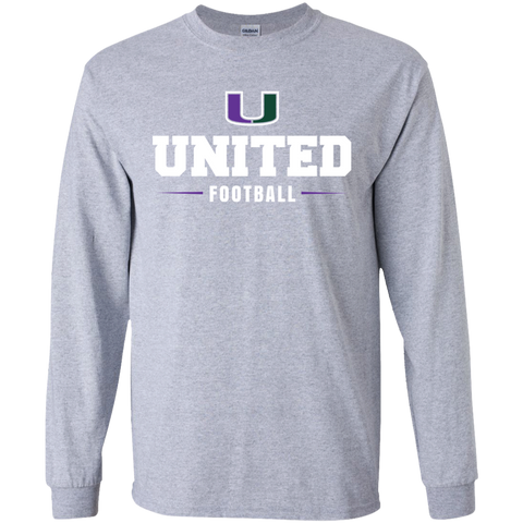 United G240 Gildan Long Sleeve Ultra Cotton T-Shirt Unisex