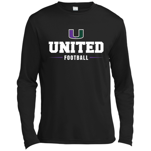United ST350LS Spor-Tek Long Sleeve Moisture Absorbing T-Shirt Unisex