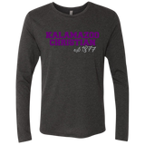 est 1877 NL6071 Next Level Unisex Triblend Long Sleeve Crew