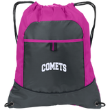 COMETS Embroidery BG611 Port Authority Pocket Cinch Pack
