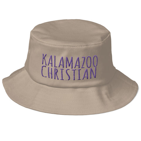 Handwritten Old School Bucket Hat