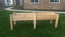 "Elevated:  Cedar: 2'W x 8'L x 11.5""D x 32"" + Shipping is Free"