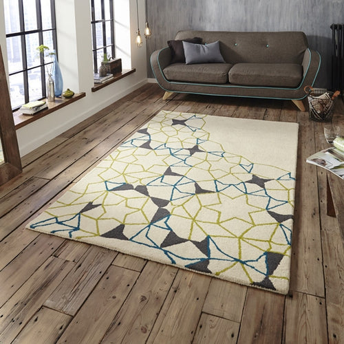 Spectrum SP-37 Ivory / Green /Blue for  £198.99 at Alis Carpets
