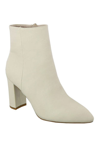 Pointed Toe Ankle Bootie (More Colors)