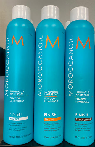 Moroccan Oil Luminous Hairspray (Extra Strong)