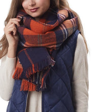 Plaid Scarf/Wrap