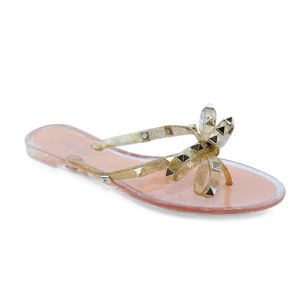 Studded Thong Sandals (More Colors)
