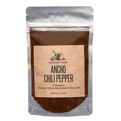 Case of Ancho Chile Pepper
