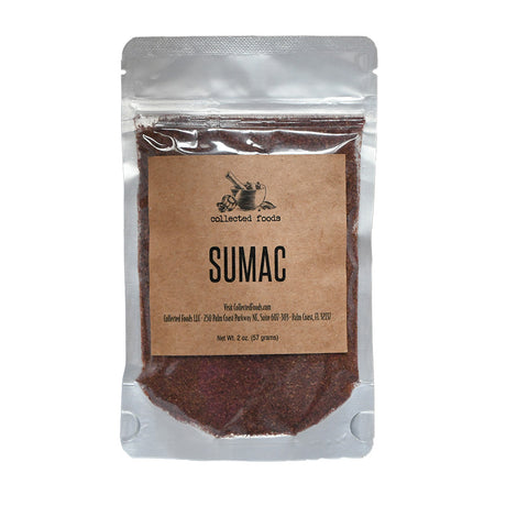 Ground Sumac: Fresh and Vivid Citrus Flavor