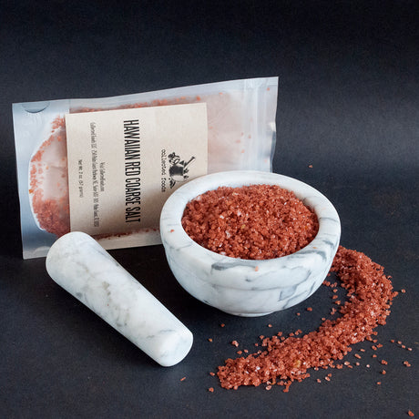Hawaiian Red Coarse Salt