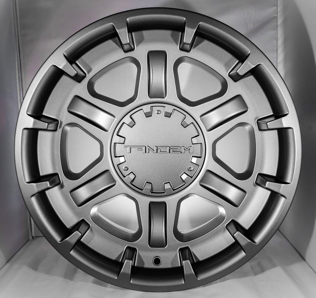 612 CHARLIE 17x8.5IN -10MM OFFSET ALLOY WHEEL TOYOTA LEXUS 4RUNNER TACOMA LAND CRUISER FJ CRUISER GX460 GX470