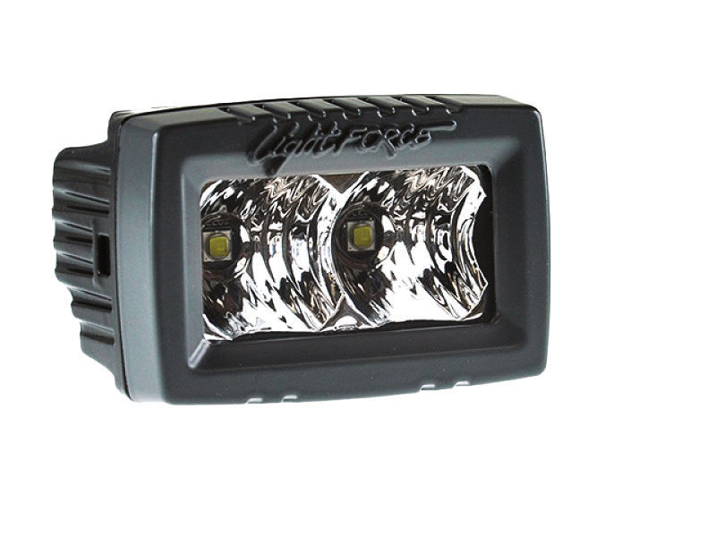 2 Inch Utility LED Light Single Row 5 Watt Chips Flood Beam ROK10 Lightforce