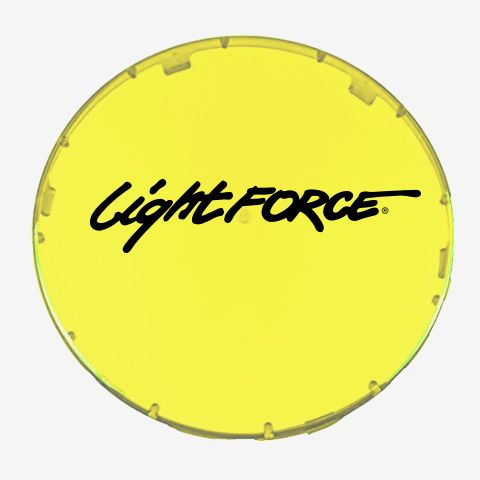 10 Inch Driving Light Filter Yellow Single Spot Lightforce