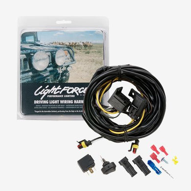12V Wiring Harness Halogen & HID Excluding Venom Pair Lightforce