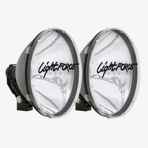 10 Inch Halogen Driving Light High Mount 12V 100W Pair Blitz Lightforce