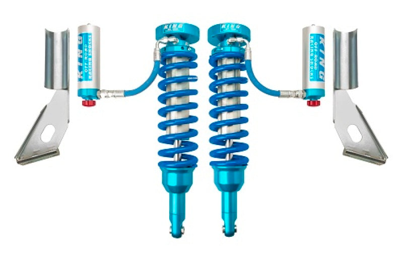 King Shocks 2010+ Toyota 4Runner Front 2.5 Dia Remote Reservoir Coilover w/Adjuster (Pair)