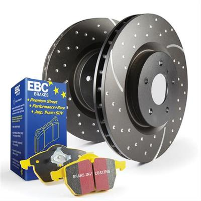 EBC Stage 5 kit FRONT for 100 series Land Cruiser