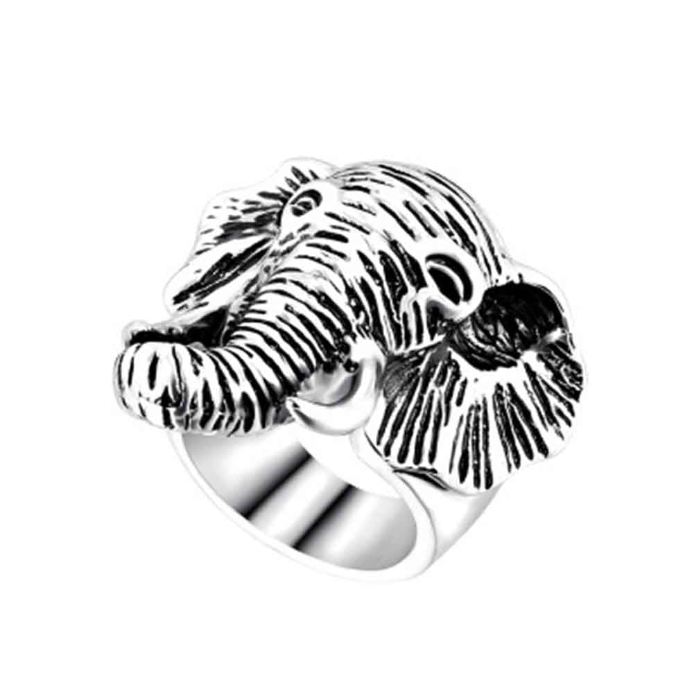 CASUAL RACK - NEW STYLE MENS ELEPHANT HEAD CASUAL RING – Casual Rack