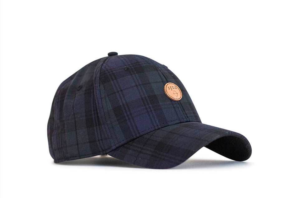 Vintage Black Watch Plaid Hat