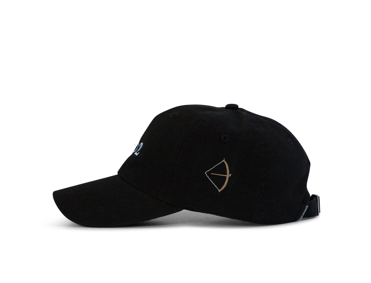 Classic Twill Golf Hat - Black