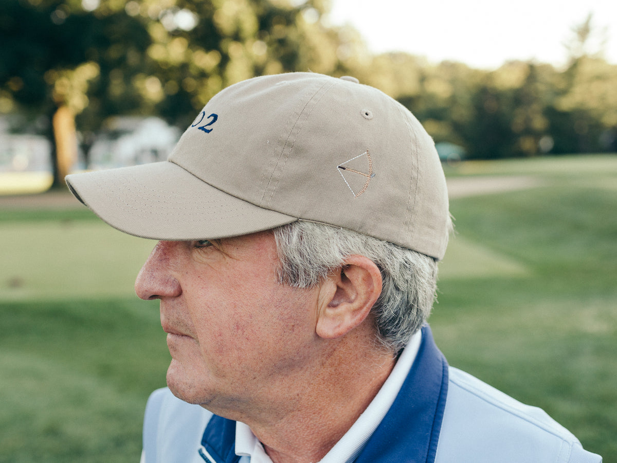 Classic Twill Golf Hat - Khaki