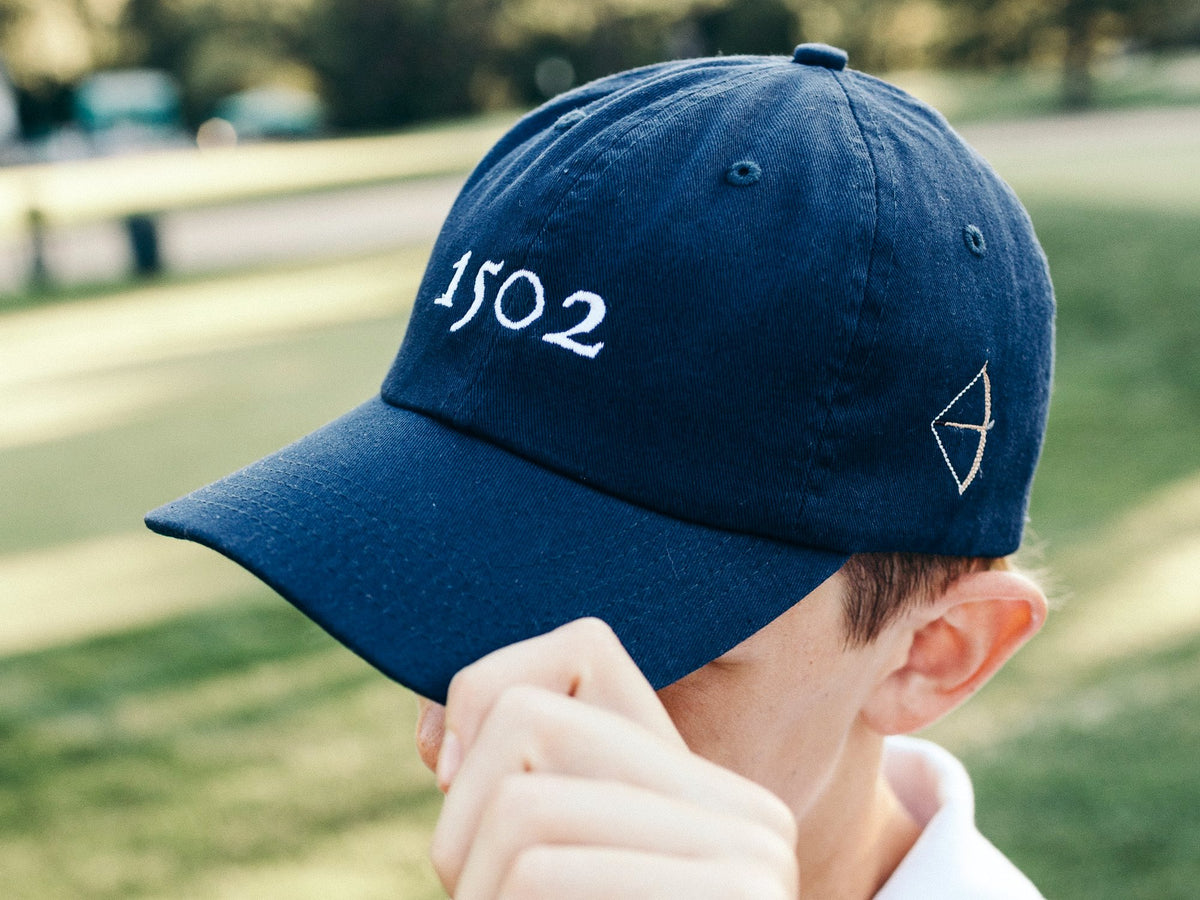 Classic Twill Golf Hat - Navy Blue
