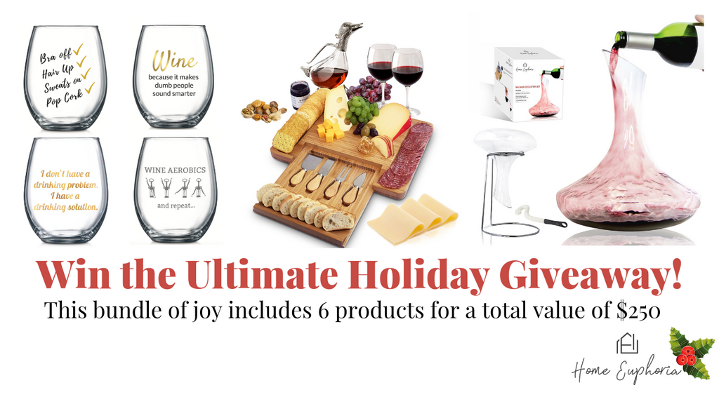 Ultimate Holiday Giveaway-Home Euphoria