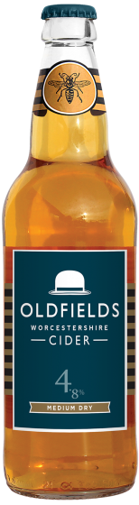 OLDFIELDS MEDIUM SWEET CIDER (500ml)