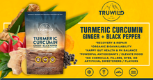 Turmeric Curcumin Drink Mix Powder + Organic Curcuminoid Black Pepper, Ginger, Cayenne Pepper, Lemon, Himalayan Salt - Natural Anti-Inflammatory - Restore PH Balance - Encourage Joint Health