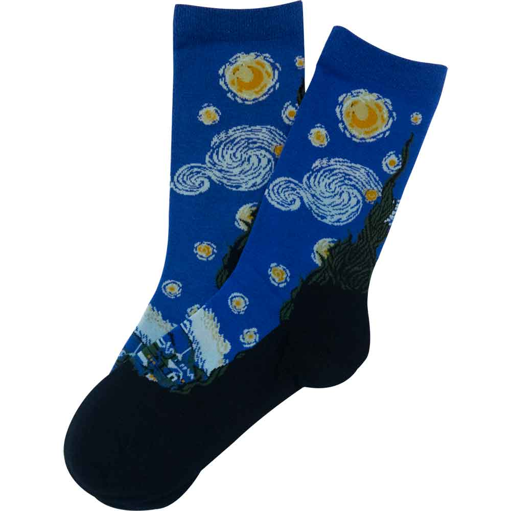 The Starry Night - Imagery Socks