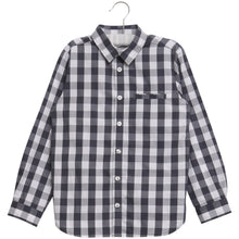 Ellias Grey/Charcoal Check Shirt