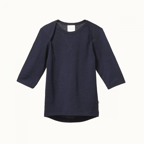Nature Baby Merino Essential Tee -Navy