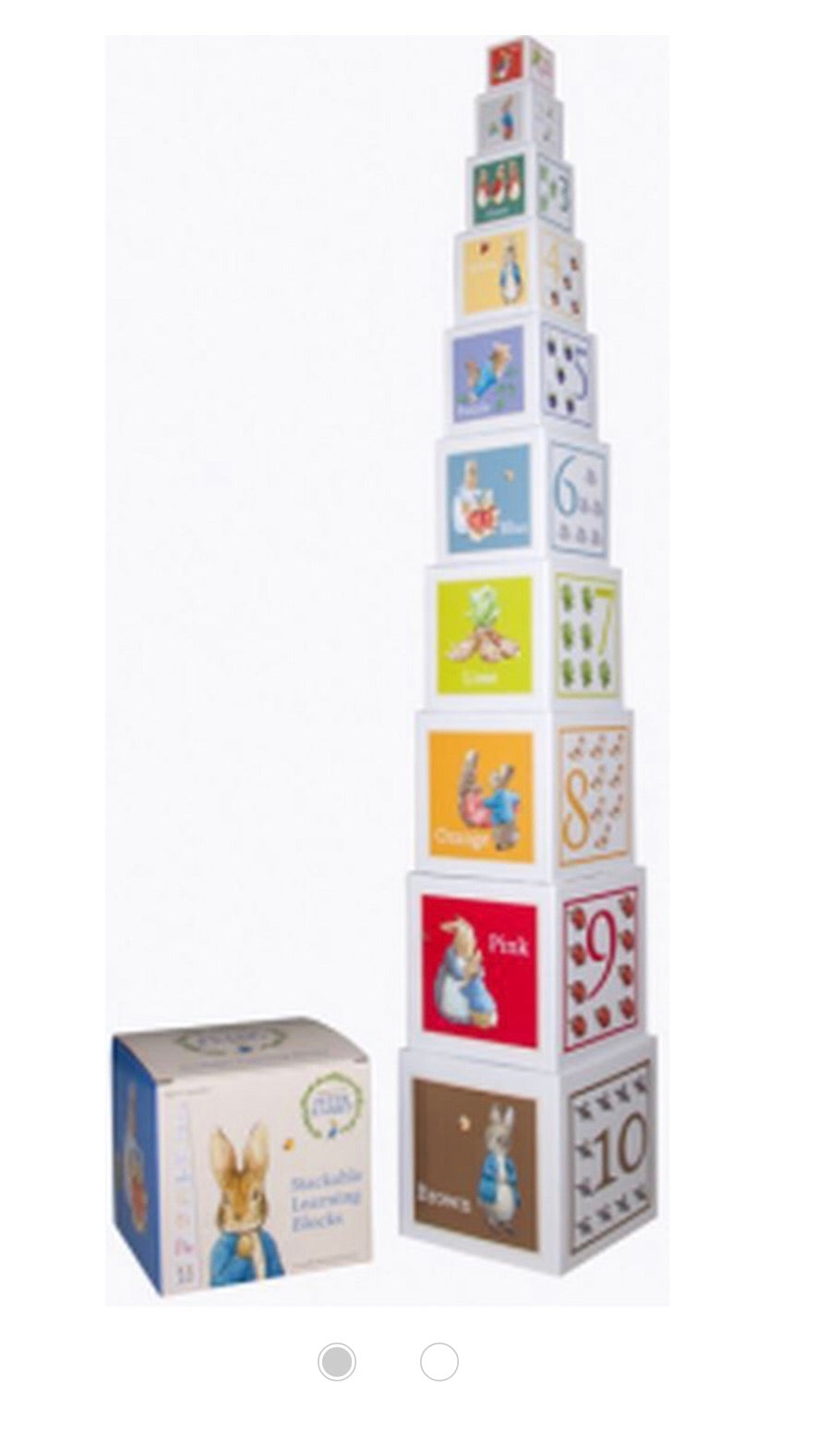 Peter Rabbit Stacking boxes