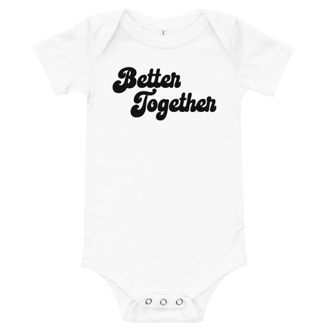 Better Together onesie