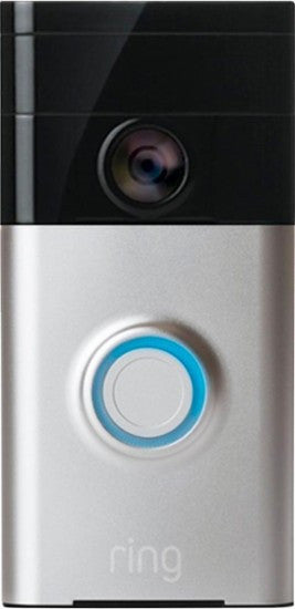 Ring Wireless Video Doorbell Silver wi-fi 88RG000FC100