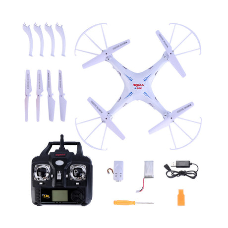 ClassiKids New Syma X5SC 2.4G 6 Axis GYRO RC Quadcopter with 2.0MP Camera