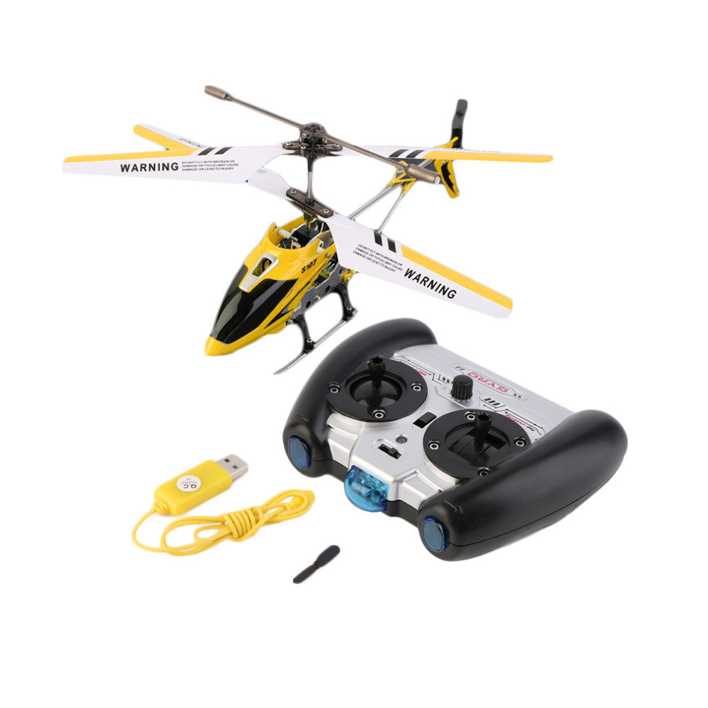 ClassiKids 3.5CH RC Helicopter with gyro Radio Control Metal Syma S107G S107 alloy fuselage