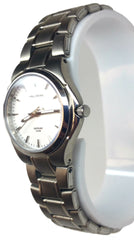Small Elegant Analog Watch - Silver
