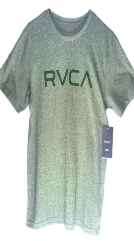 RVCA Logo T-Shirt - Burnt Olive