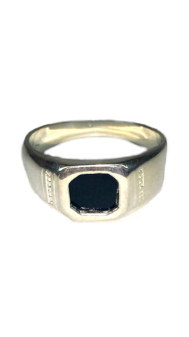 Custom Sterling Silver Ring - Black [5]