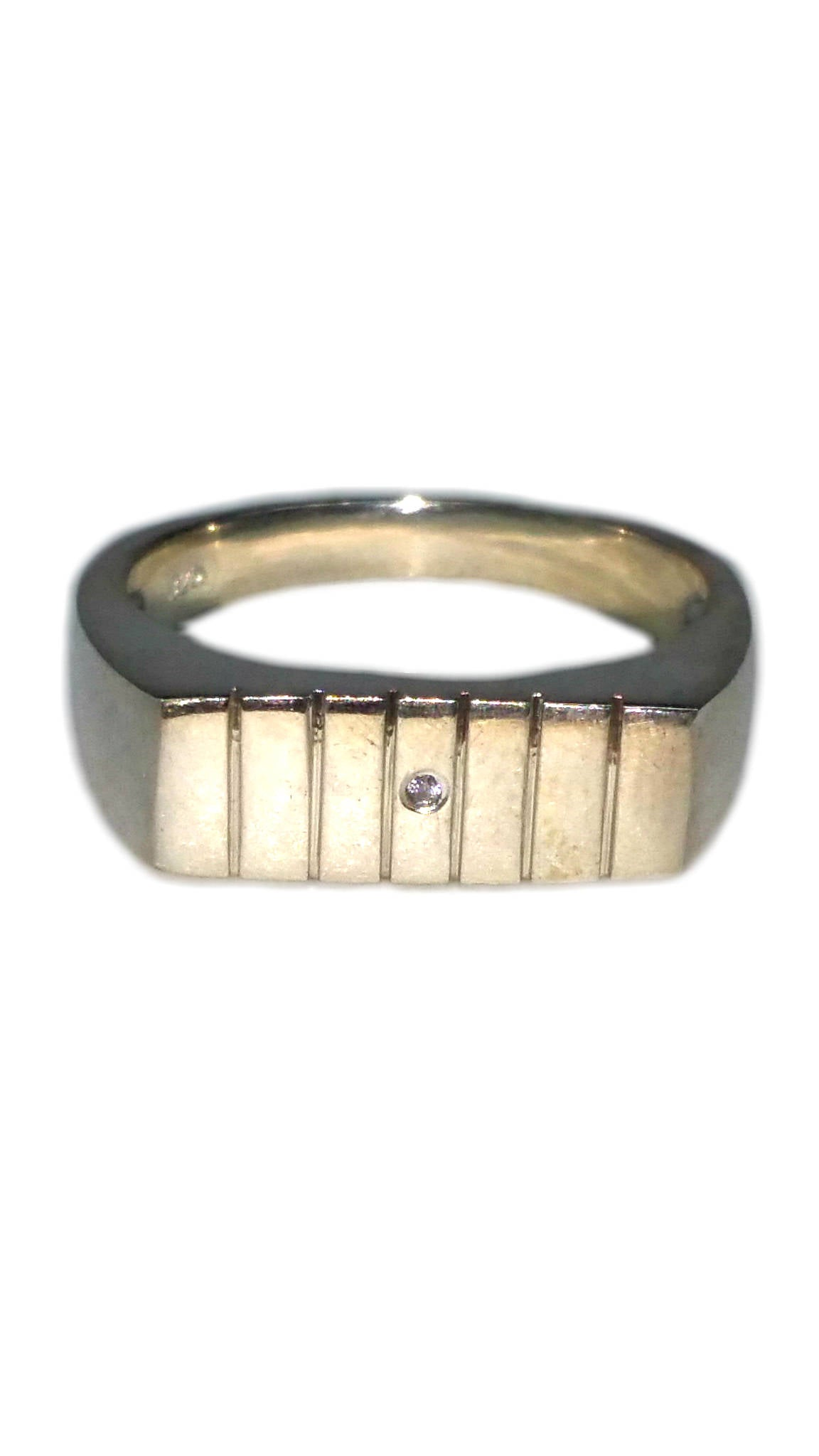 Custom Sterling Silver Ring - Square [13]