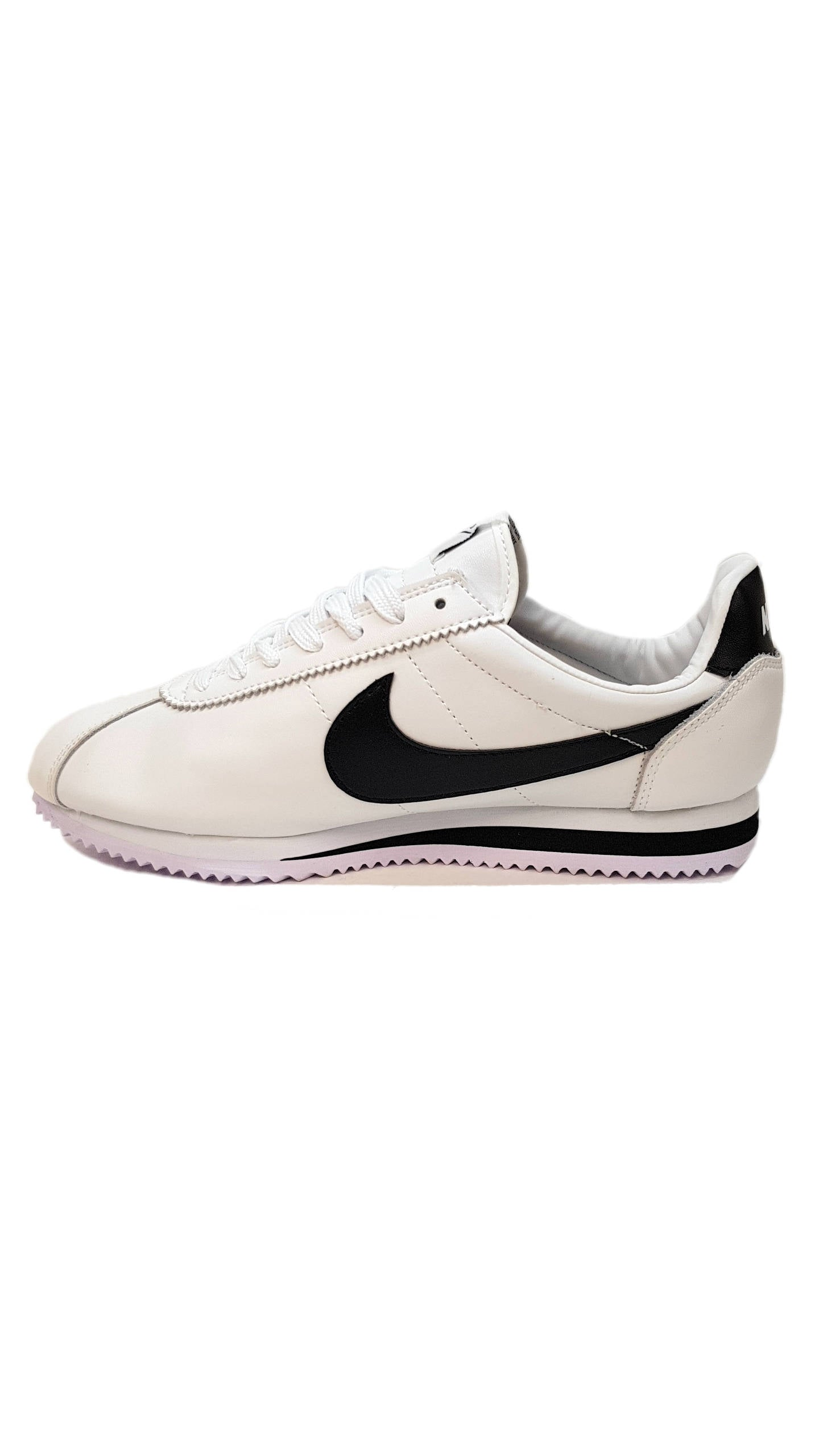 Cortez Premium Leather - White/Black